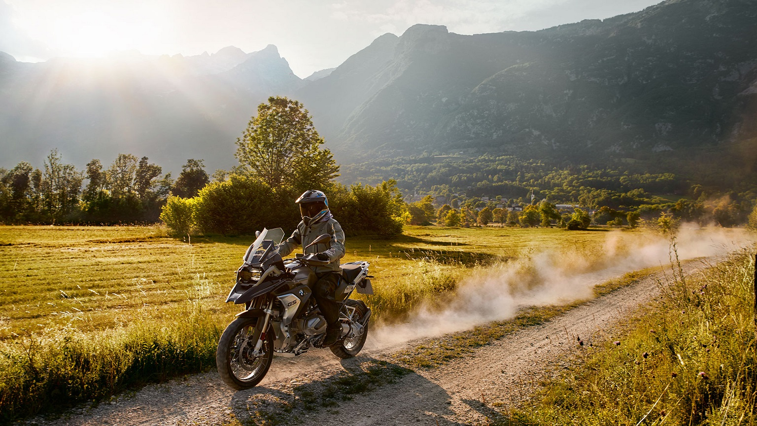 2020 BMW R 1250 GS Exterior Side View Dirt Road